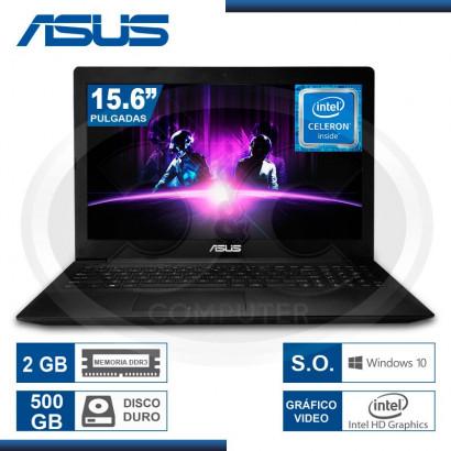 "NOTEBOOK ASUS X553SA-XX003T CEL. N3050 /2GB/500GB/15.6""/ DVD-RW/WIN 10/ BLACK (G. LA MARCA)"