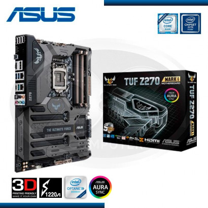 MB ASUS TUF Z270 MARK 1 M.2/READY FOR INTEL OCTANE/USB3.1,TYPE C /HDMI/DP/ DDR4 LGA 1151