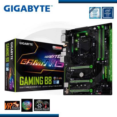 MB GIGABYTE B250 GAMING B8 USB 3.1-USB TYPEC /HDMI,DVI-D/RGB DDR4, LGA1151 (GA-GAMING B8)