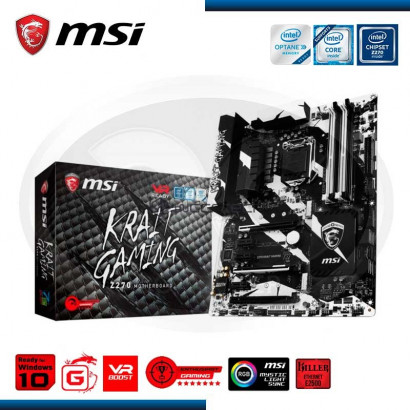 MB MSI Z270 KRAIT GAMING DDR4, LGA 1151, 7th /6th GENE. HDMI, DVI-D, 3X PCIE 16X, 3X PCIE X1