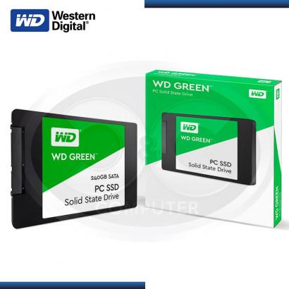 "DISCO DURO SOLIDO WESTER DIGITAL GREEN 240GB 2.5"" SATA 3  (WDS240G1G0A)"