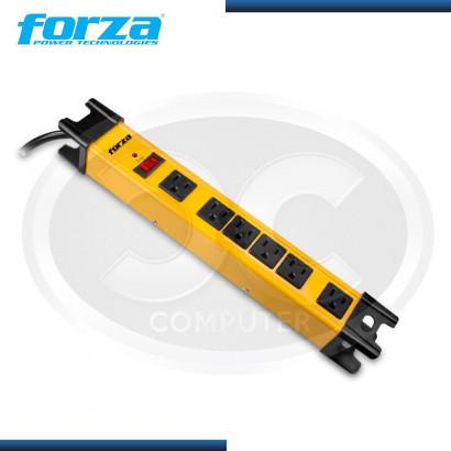 SUPRESOR DE PICO FORZA  METAL 6 TOMAS 110/220V MOD:FSP-806
