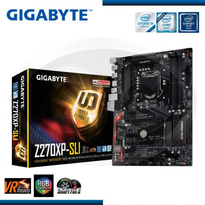 MB GIGABYTE GA-Z270XP- SLI  C/SONIDO- RED/USB3.1-USB TYPE-C /HDMI- DDR4 /1151