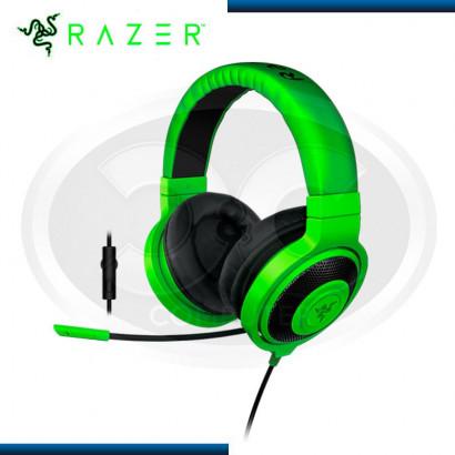 AUDIFONO C/ MICROFONO RAZER KRAKEN PRO GREEN, 3.5MM (PN:RZ04-01380200-R3U1)