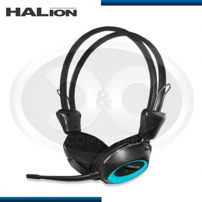 AUDIFONO C/ MICROFONO HALION T3 AZUL