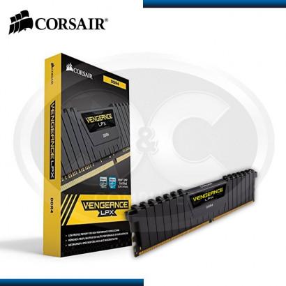 MEMORIA CORSAIR VENGEANCE LPX 16GB (2X8GB) DDR4, 3000MHz (CMK16GX4M2B3000C15)