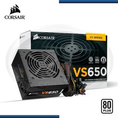 FUENTE DE PODER CORSAIR VS650W 80PLUS (CP-9020098-WW)