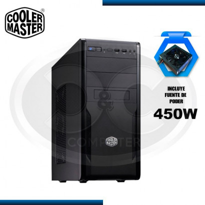 CASE COOLER MASTER CM FORCE 251 TMII-450W, USB 3.0 (PN: FOR-251-KKR450)