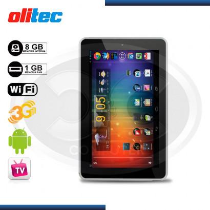 TABLET OLITEC 720, 7 CORTEX A9 1.2GHZ, 1GB, 8GB, FM, GRIS