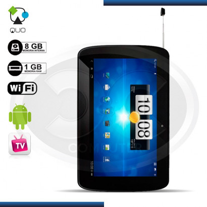TABLET QUO QS-TV701BK CORTEX-A9 SC 1GHZ, 8GB ANDROID 4.1