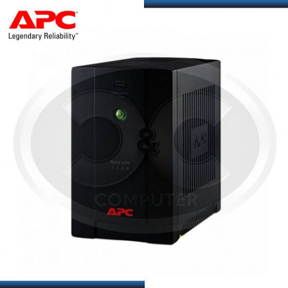 UPS APC BLACK 1100VA /550W 6 SALIDAS MOD:BX1100LI-MS 230V