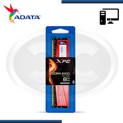 MEMORIA DDR4 8GB 2400 ADATA XPG (AX4U2400W8G16-SRD)