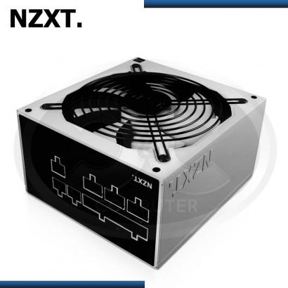 FUENTE DE PODER NZXT HALE82 V2 550W, WHITE,MODULAR, 80 PLUS BRONZE (PN:NP-1BM-0550A)