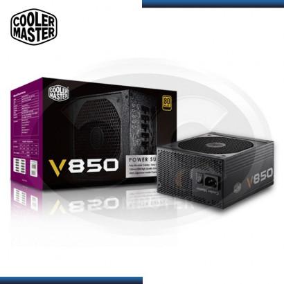FUENTE COOLER MASTER VSERIES V850W 80 PLUS GOLD MODULAR (PN:RS850-AFBAG1-US)