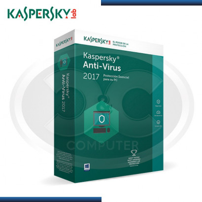 KASPERSKY ANTIVIRUS 2017 - 3PC  KL1171DBCFS (CALL 01-225-8513)