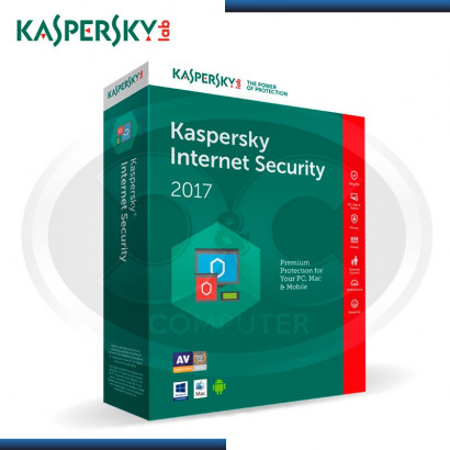 KASPERSKY INTERNET SECURITY 2017 - 1PC  KL1941DBBFS (CALL 01-225-8513)