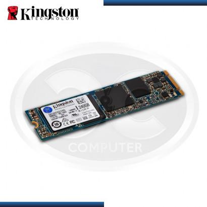 UNIDAD DE ESTADO SOLIDO KINGSTON SSDNOW M.2 SATA G2, 240GB, SATA 6GB/S, M.2 2280.  (PN:SM2280S3G2/240G)