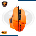MOUSE COUGAR GAMING ORANGE 600M LASER 8200 DPI (PN:CGR-WLMO-600)
