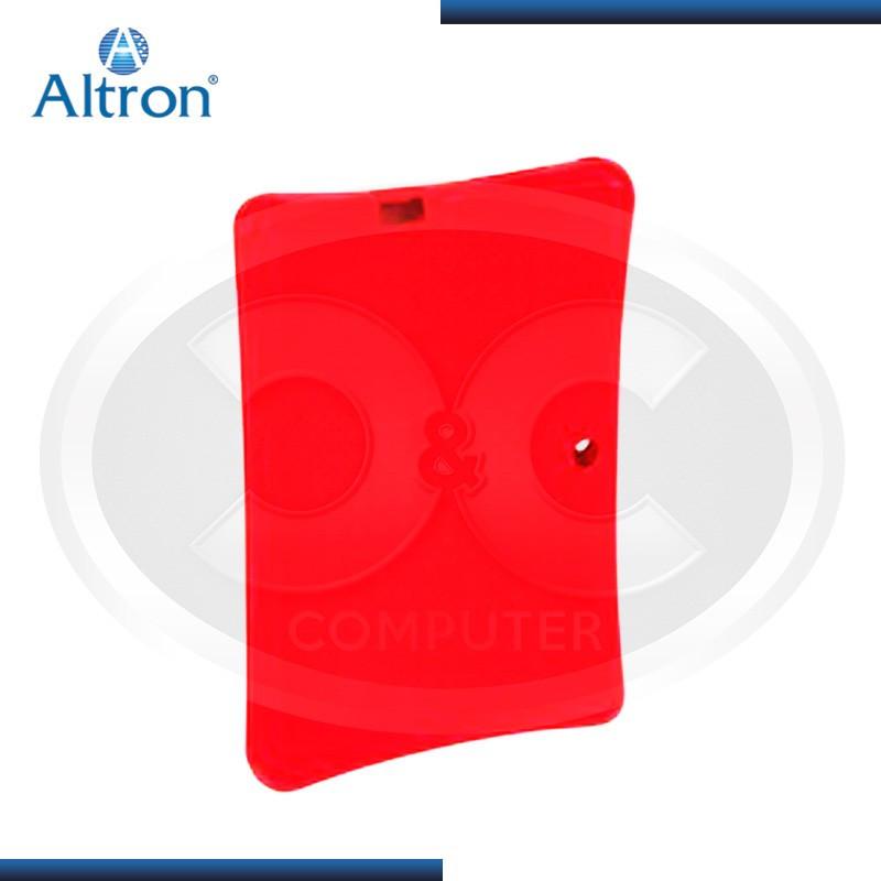 "FUNDA DE SILICONA PARA TABLET 7"" ALTRON HYS-01- ROJO"
