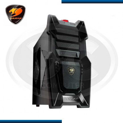 CASE COUGAR CHALLENGER BLACK, MIDI TOWER S/ FUENTE (PN:IM-161116)