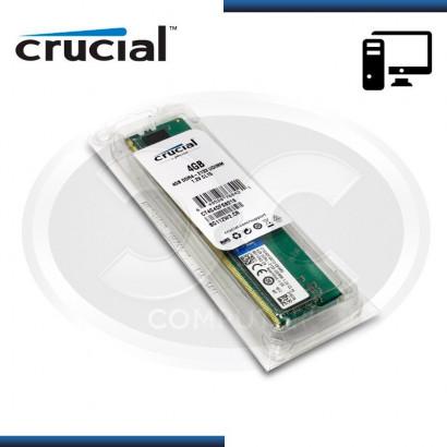 MEMORIA  CRUCIAL DDR4 4GB 2133 MHZ 1.2V MOD:CT4G4DFS8213