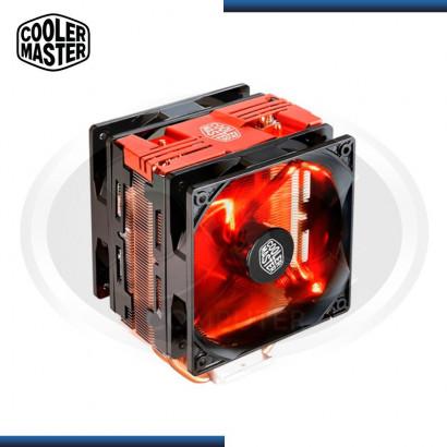 COOLER PARA PROCESADOR COOLER MASTER HYPER 212 LED RED TURBO (PN:RR-212TR-16PR-R1)