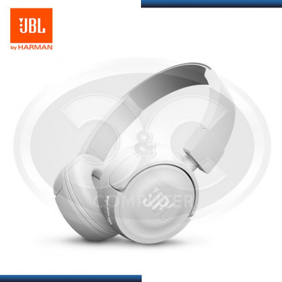 AUDIFONO WHITE BLUETOOTH ON -EAR JBL-T450