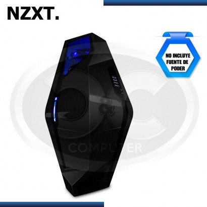 CASE NZXT PHANTOM 410 MID TOWER, SIN FUENTE, NEGRO (PN:CA-PH410-B1)