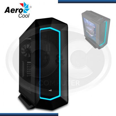 CASE AEROCOOL RGB P7-C1 BLACK S/FUENTE, USB 2.0 (2) USB 3.0 (2)