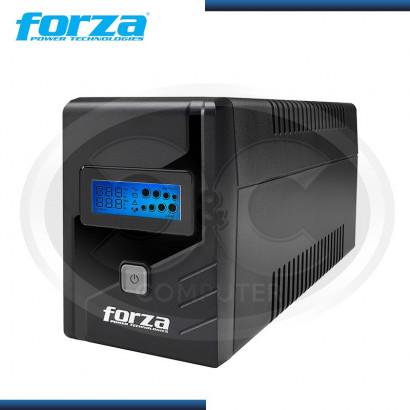 UPS FORZA SL-1012 LCD-U 1000VA / 600W 8 TOMAS 220V