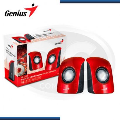 PARLANTE 2.0 GENIUS SP-U115 USB, 1.5W, RED