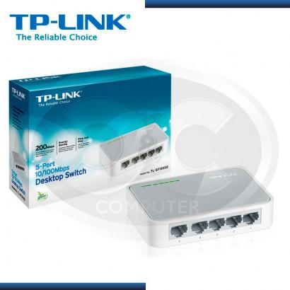 SWITCH TP-LINK TL-SF1005D 5 PUERTOS 10/100 MBPS
