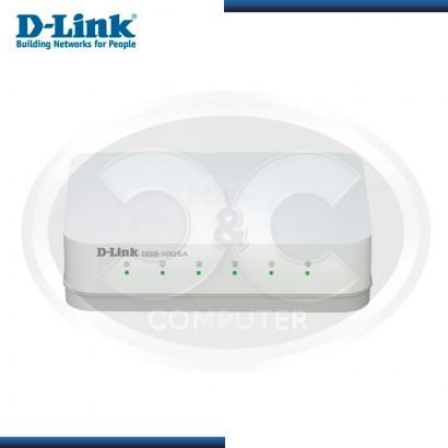 SWITCH D-LINK DGS-1005A 5 PUERTOS 10/100/1000 (G. LA MARCA-080000968)