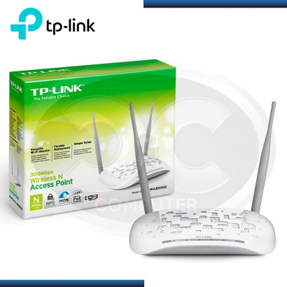 ACCES POINT TP-LINK TL-WA801ND 300MPS, 2 ANTENAS