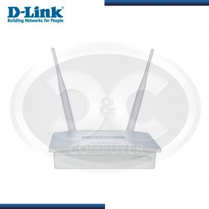 ACCESS POINT WI-FI D-LINK DAP-2360 300MBPS, POE, RJ-45 Gb/E, 2 ANTENAS 5DBI.
