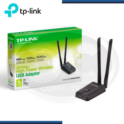 ADAP. USB WI-FI TP-LINK TL-WN8200ND 300MBPS HIGH POWER