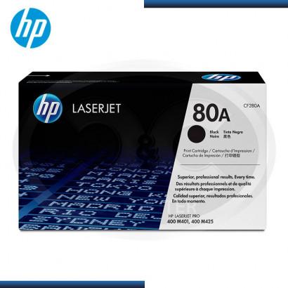 TONER HP LASERJET 80A (CF280A) BLACK