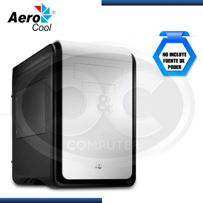 CASE AEROCOOL DS CUBE BLACK/WHITE S/FUENTE