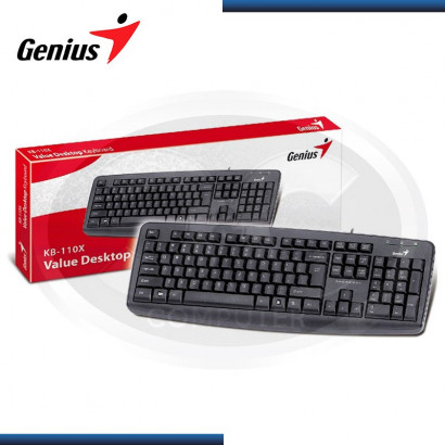 TECLADO GENIUS KB-110X USB ESTANDAR