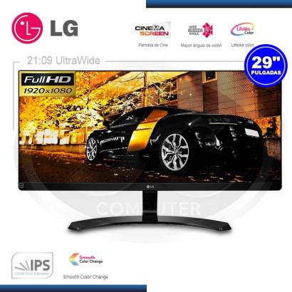 "MONITOR LED IPS LG 29"" ULTRA WIDE 29UM68-P 2560X1080 HDMI (G. LG)"
