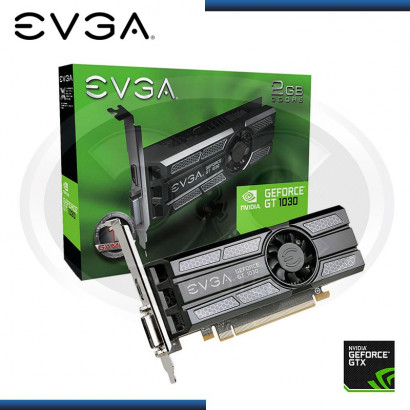 VIDEO PCI EXP. GEFORCE EVGA GT 1030 2GB DDR5 (PN:02G-P4-6333-KR)