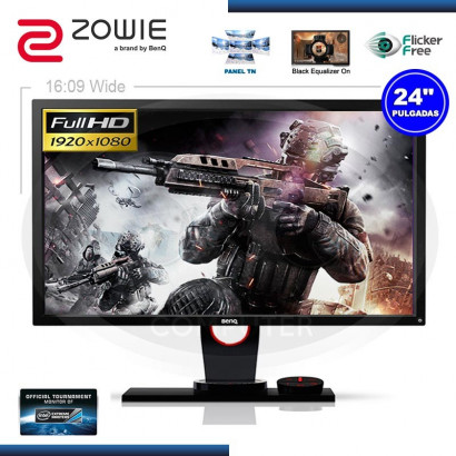 "MONITOR LED 24"" BENQ ZOWIE XL2430 GAMING 1920 x 1080, 144Hz, 1MS, VGA, DVI, HDMI, USB, DP"