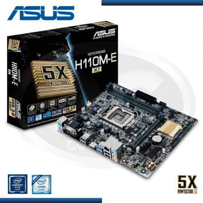MB ASUS H110M-E/ M.2 C/VIDEO- SONIDO-RED DDR4 LGA 1151 USB 3.0 (PN:90MB0RK0-M0EAY0)