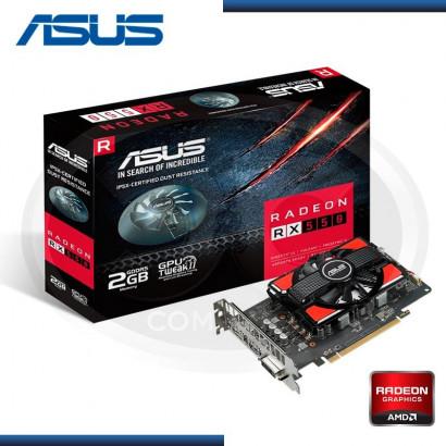 VIDEO PCI EXP. RADEON ASUS RX 550 2GB GDDR5, 128 BIT (PN: RX 550- 2G)