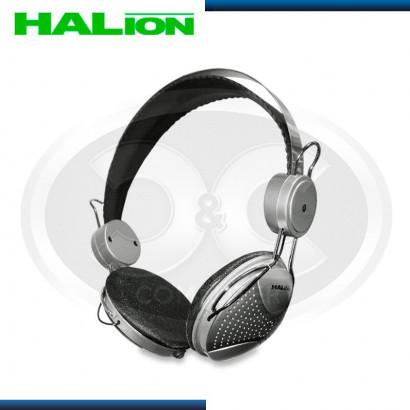 AUDIFONO HALION  HA-222 C/MICROFONO NEGRO/GRIS