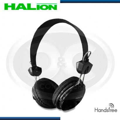 AUDIFONO HALION HA-819 C/MICROFONO NEGRO