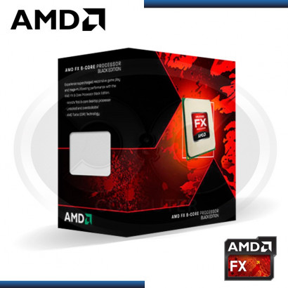 PROCESADOR AMD FX-8300 4.2 /3.3GHZ CACHE L2: 8MB /L3: 8MB S.AM3+ (FD8300WMHKBOX)