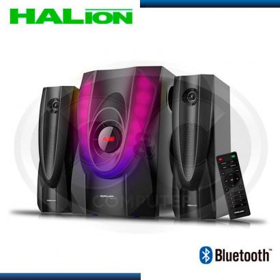 PARLANTE HALION 2.1 MEGATRON HA-614BT USB/SD/FM/BT/C-REMOTO 120 RMS