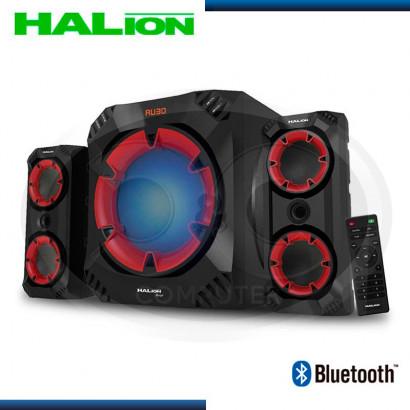 PARLANTE HALION 2.1 BOXER HA-757BT USB/SD/FM/BT C-REMOTO/RMS200W