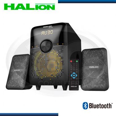 PARLANTE HALION 2.1 PERSEO HA-275BT USB/SD/FM/BT/C-REMOTO/70-RMS